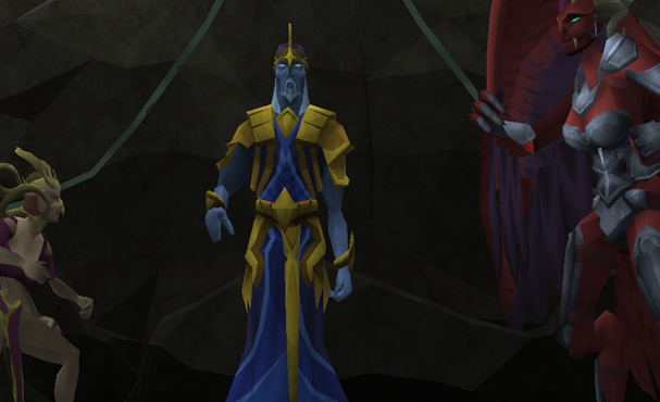 Saradomin returns to Gielinor