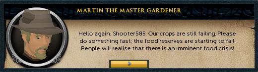 Martin the master gardener