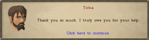 Tolna: Thank you so much. I truly owe you one for your help.