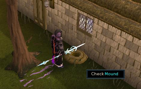 Check mound
