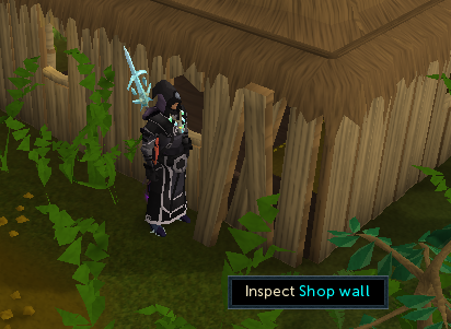 Inspect shop wall