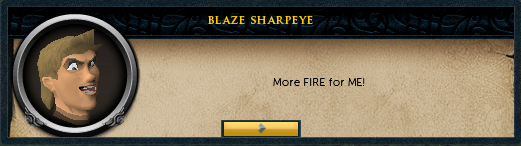Blaze Sharpeye: But what could be better
