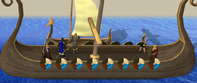 Sailing on Chief Brundt's ship