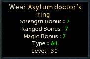 Asylum Doctor's Ring