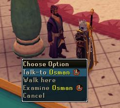 Contact! - 'Talk-to' Osman