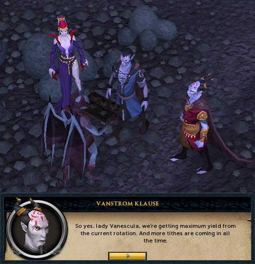 Darkness of Hallowvale - Vanstrom meeting with the Drakan Lords