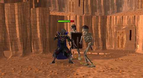 Killing skeletons