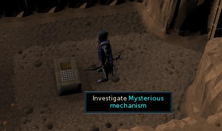 Investigate Mysterious mechanism