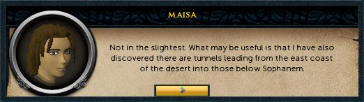 Maisa: Not in the slightest