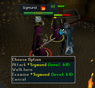 Attack Sigmund