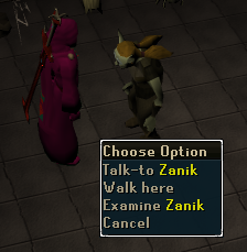 Talk to Zanik