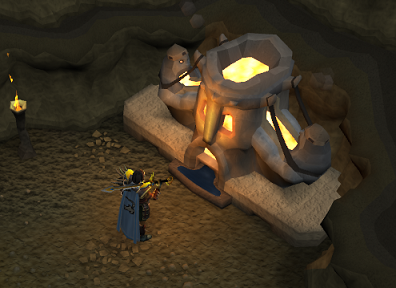 The sacred forge