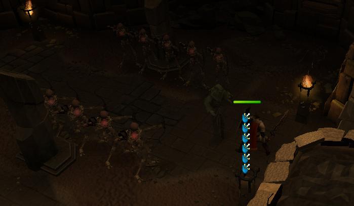 Demon Slayer - The bones have become 10 level 2 Skeletons!