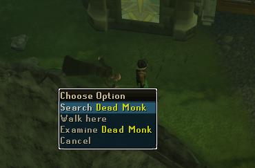 Search Dead Monk