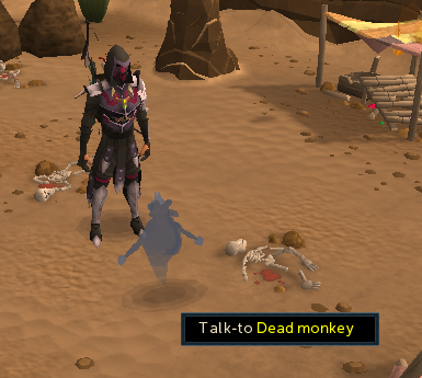 Talk to Dead monkey