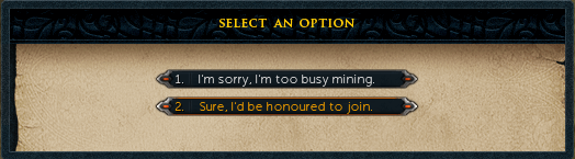 Sure, I'd be honoured to join.