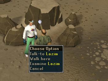 Talk to lazim