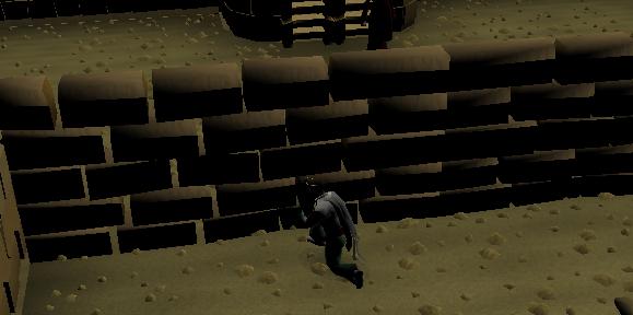 Place a brick