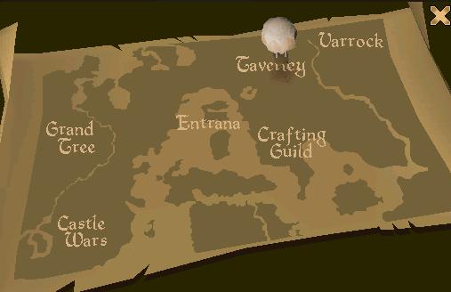 Ballon Travel System Map