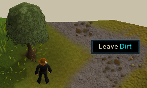 Leave Dirt