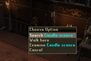 Search the Candle Sconce on the wall