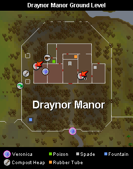 Draynor Manor Ground Level Map