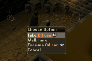 Take the Oil Can