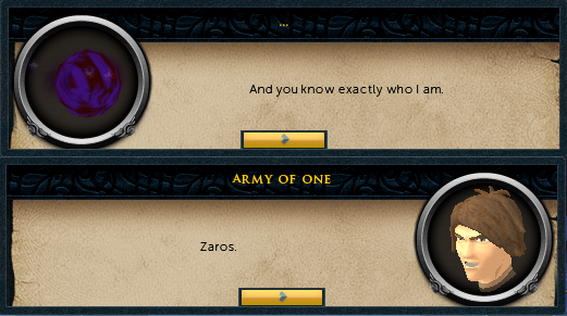 Zaros reveals himself