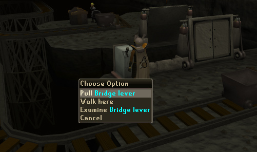 Pull the Bridge Lever
