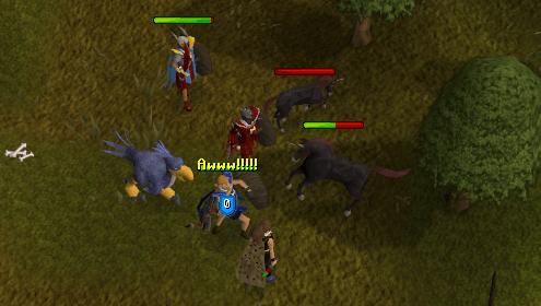 fighting a black unicorn