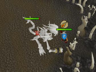 Fighting the skeletal horror