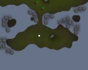 Location of the buried treasure