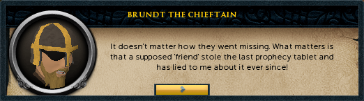 Brundt the Chieftain: It doesn't matter how they went missing.