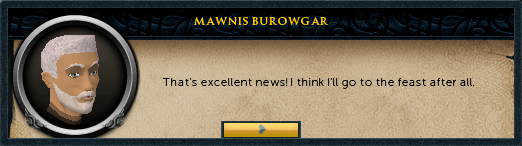 Mawnis Burowgar: That's excellent news!
