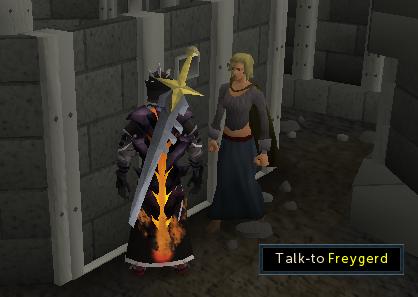 Talk to Freygerd