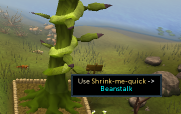 Use shrink me quick with beanstalk