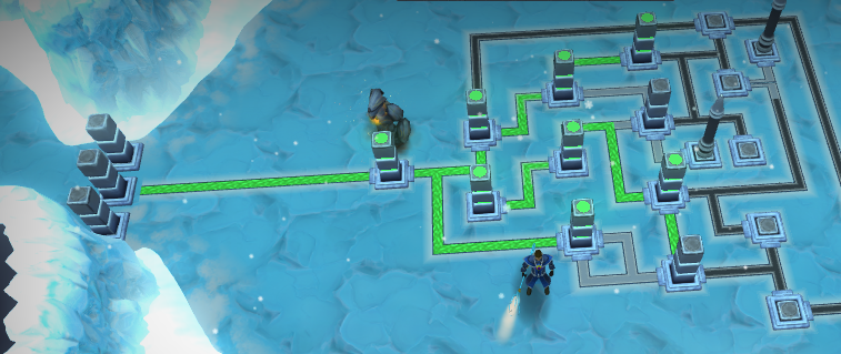 The Ice Puzzle