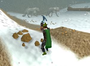 Mining the rocks