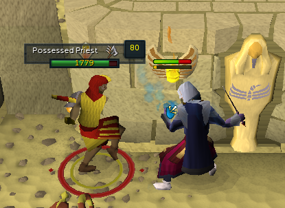 Attacking the Possessed Priest