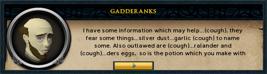 Gadderanks: I have some information which may help...