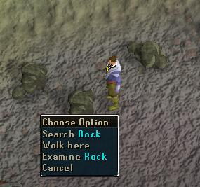 Search rock