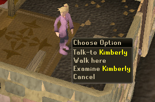 Talk to kimberly