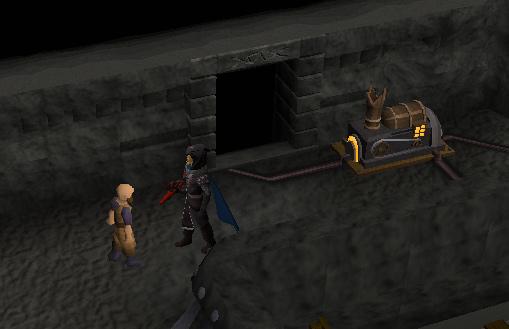 King of the Dwarves - Speak to Sven, the Lava-Flow Miner