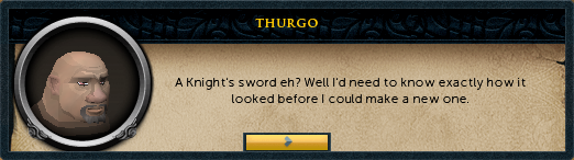 Thurgo: Have you got a picture of the sword for me yet?
