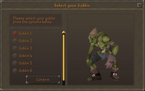 Select your goblin