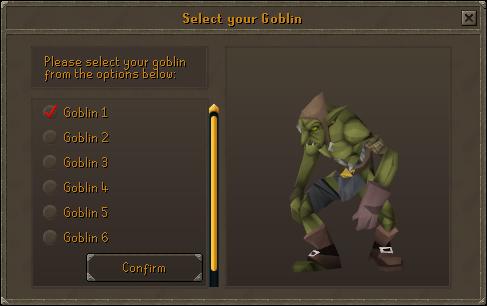 Select your goblin