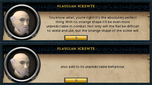 Flaygian Screwte: You know what, you're right! It's the absolutely perfect thing.