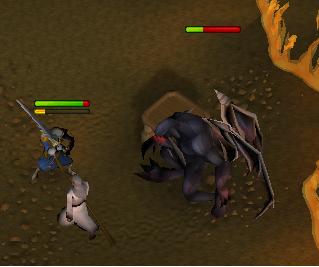 Fighting the demon