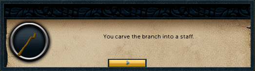 With the tree spirit defeated you can now chop the tree