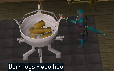 Burn logs